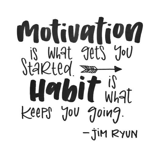 Motivation vs. Habit